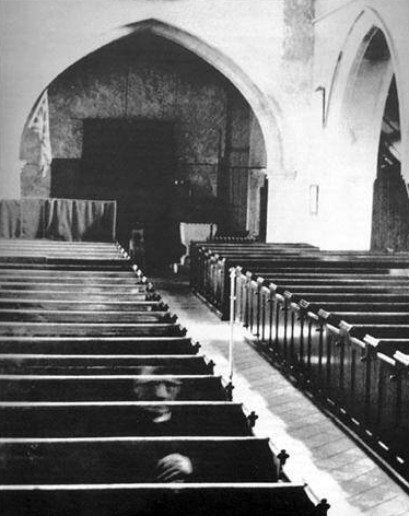 The ghost in the church at Eastry.