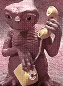 E.T. phoning home
